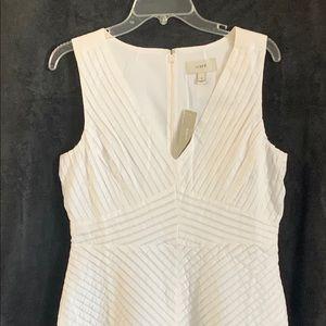 J Crew Pleated Dress • size 10 • NWT